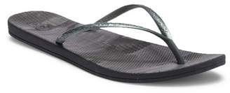 Reef Escape Lux Paint Splatter Thong Sandal