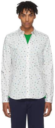Paul Smith White Brush Strokes Shirt