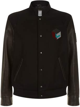 Lanvin Embroidered Teddy Jacket