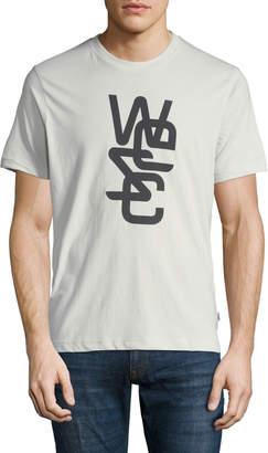 Wesc Men's Overlay Logo-Graphic T-Shirt