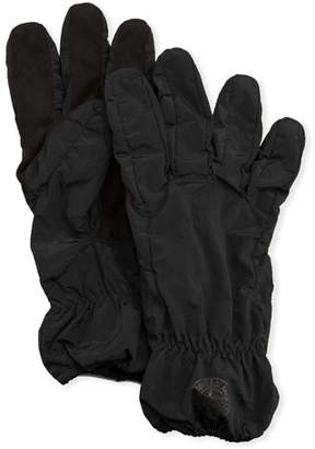 Stone Island Men's Faux-Suede Gloves