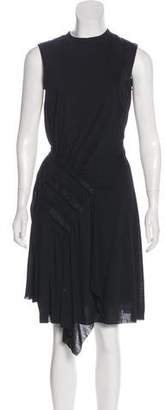 Nina Ricci Virgin Wool-Blend Sleeveless Dress