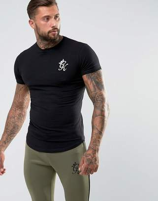 Gym King Logo T-Shirt In Muscle Fit