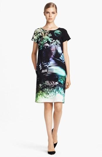 Mary Katrantzou Print Silk Dress