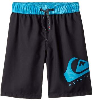 Quiksilver Lava Logo Volley Shorts Boy's Swimwear