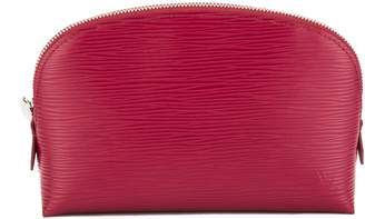 Louis Vuitton Fuchsia Epi Leather Cosmetic Pouch (Pre Owned)