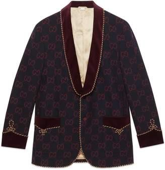 Gucci GG flannel jacket