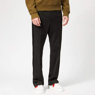 Men's Polyester Rodier Trousers Black