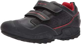 Geox Boy's J N.Savage B.A Shoes, Navy/Royal