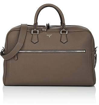Serapian Men's Cachemire Leather Duffel Bag