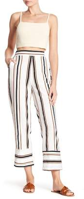 Know One Cares Vertical Stripe Pull-On Pants