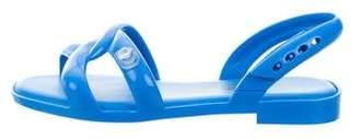 Jeremy Scott Melissa x Tube Crossover Sandals w/ Tags