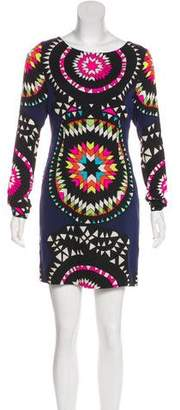 Mara Hoffman Abstract Printed Mini Dress