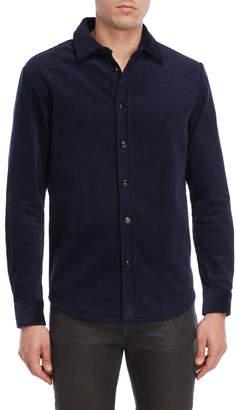 Slate & Stone Blue Corduroy Shirt Jacket