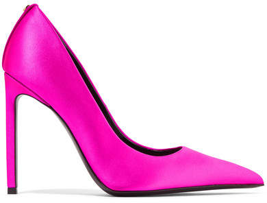 TOM FORD - Satin Pumps - Magenta