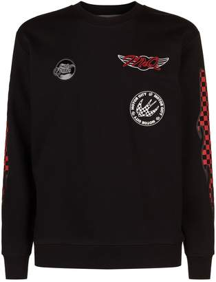 McQ Racer Badges Sweatshirt