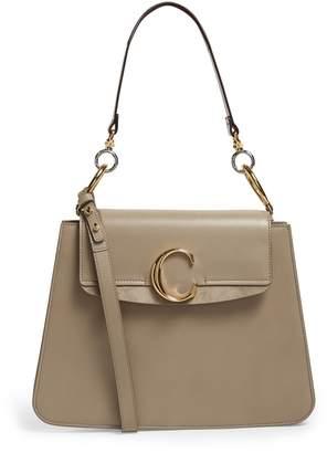 Chloé Medium Leather C Shoulder Bag
