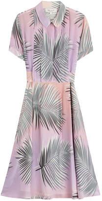 Paul & Joe Silk Palm Print Dress