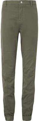 Brunello Cucinelli Stretch-Cotton Twill Trousers