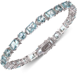 Nina Silver-Tone Cubic Zirconia Link Bracelet