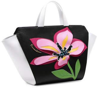 Braccialini Marcella Saffiano Leather Shopper