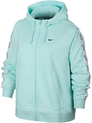 Nike Womens Sportswear Full Zip Logo Hoodie