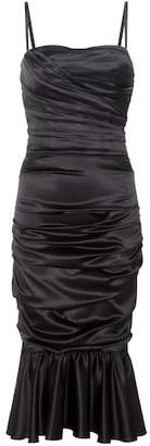 Dolce & Gabbana Sleeveless stretch-silk dress