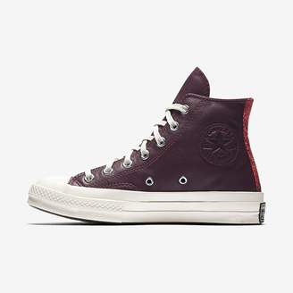 Converse Chuck 70 Leather and Tapestry High Top Unisex Shoe