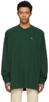 Acne Studios Bla Konst Green Badge T-Shirt