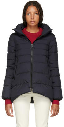 Herno Navy A-Line Puffer Jacket