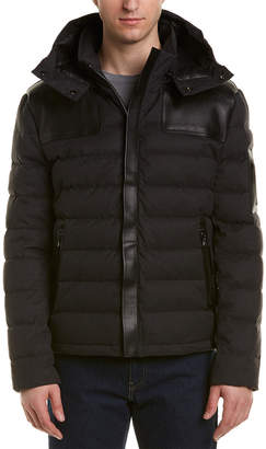 M. Benisti Revelstoke Leather-Trim Jacket