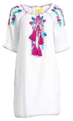 Roller Rabbit Bharati Embroidered Dress