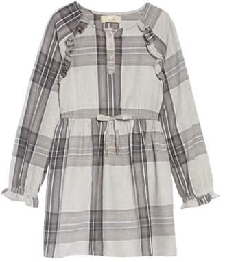 Dakota Peek Plaid Flannel Dress