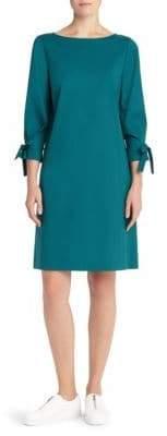 Lafayette 148 New York Paige Tie-Sleeve Shift Dress