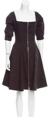 Cinq à Sept A-Line Knee-Length Dress