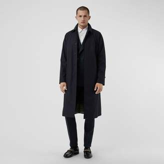 Burberry Quilt-lined Tropical Gabardine Belted Car Coat
