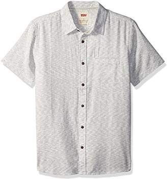 Levi's Men's Haltom Short Sleeve Woven Shirt