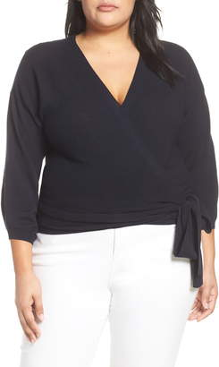 Vince Camuto Side Tie Wrap Sweater