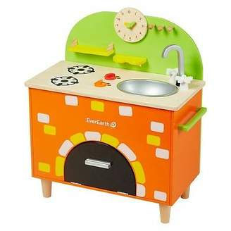 NEW EverEarth Play Kitchen with Brick Oven