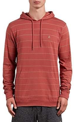 Volcom Men's Wallace Long Sleeve Hooded Shirt