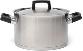 Berghoff Stainless Steel Covered Stockpot - Silver