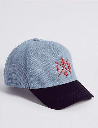 Marks and Spencer Kids' Texture Baseball Cap (3-14 Years)