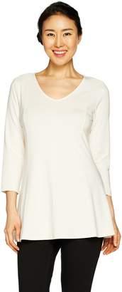 Susan Graver Modern Essentials Cotton Modal Tunic