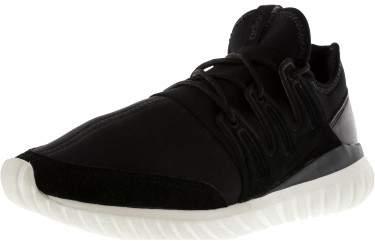 Adidas Men's Tubular Radial Core Black / Crystal White Ankle-High Fabric Fashion Sneaker - 9M