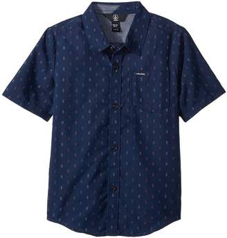 Volcom Rollins Short Sleeve Shirt Boy's Short Sleeve Button Up
