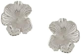 Meadowlark small coral studs