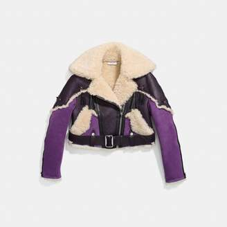 Coach Western Aviator Jacket