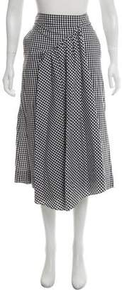 Simone Rocha Gingham Midi Skirt