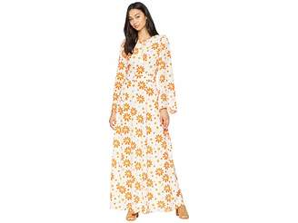 Juicy Couture Dotted Daisy Maxi Dress Women's Dress