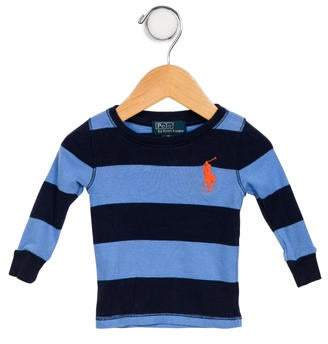 Polo Ralph Lauren Boys' Striped Long Sleeve Shirt